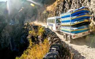 Самые опасные дороги мира: топ 10