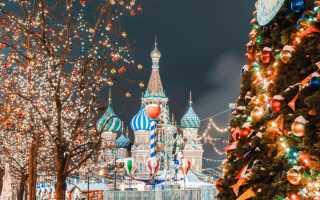 Самые красивые города России на Новый год: подборка фото
