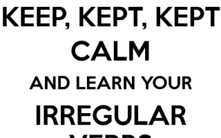 Как быстро выучить неправильные глаголы по английскому языку: обзор лучших способов
