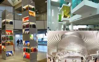 Самые необычные библиотеки мира на фото